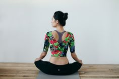 Gorgeous top from Free People's new yoga collection