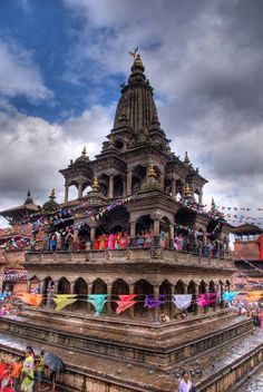 Ancient Sri Krishna Temple in Nepal