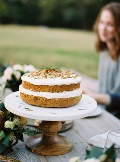 Healthy Harvest Cake - This is my go-to cake for most occasions. Life is worth celebrating and whenever there is a celebration to be had, this cake makes an appearance. It's healthy and tasty.Mixed in are beets, carrots, and zucchini, which add a lot of richness.