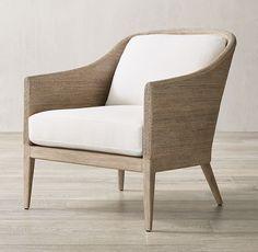 Chairs   RH Wood Arm Chair, Diy Chair, Modern Armchair, Modern Chairs, Living Room Modern, Living Room Chairs, Coastal Living, Living Rooms, Restauration Hardware