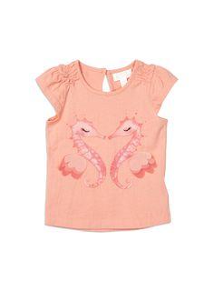 Pumpkin+Patch+-++-+seahorses+print+top