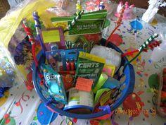 A Sweet 16 Gift Basket