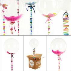 Cool Bat & Bar Mitzvah and Wedding Idea: Bonjour Balloons Confetti Balloons - mazelmoments.com – mazelmoments