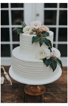 Pastel Wedding Cakes, Small Wedding Cakes, Wedding Cake Rustic, Wedding Cakes With Cupcakes, White Wedding Cakes, Elegant Wedding Cakes, Wedding Topper, Wedding Cakes With Flowers, Wedding Cake Designs