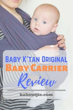 Baby K'tan Original Baby Carrier Review  It's no surprise that babywearing is so popular, it makes breastfeeding easier, promotes baby bonding and leaves your arms free! Read the Baby K'tan Baby Carrier Review for reasons why you should buy this amazing baby wrap.  #guestpost #babywrap