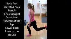 Split Squats - annamarshnutrition - YouTube