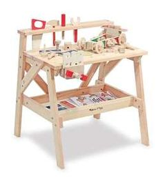 Melissa & Doug Wooden Project Workbench R1500