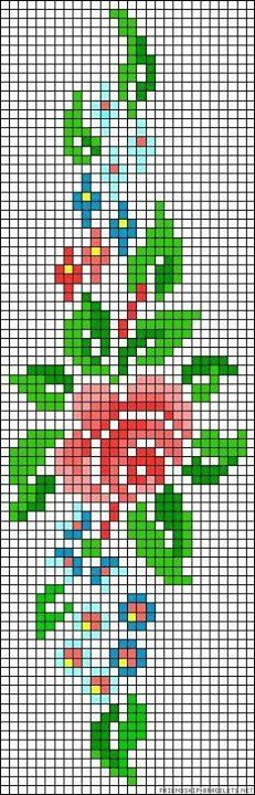 This Pin was discovered by Ays Cross Stitch Bookmarks, Cross Stitch Borders, Cross Stitch Rose, Cross Stitch Flowers, Cross Stitch Charts, Cross Stitch Designs, Cross Stitching, Cross Stitch Embroidery, Cross Stitch Patterns