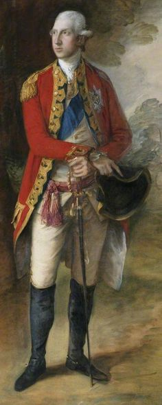 William Henry, Duke of Gloucester (Gainsborough), Colonel-in-Chief, 1st Foot Guards c. 1776