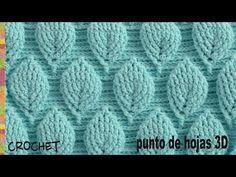 Crochet 3D Bag Tutorial Using Leaf Stitch - Design Peak