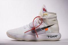 0540701285b Off White x Nike Hyperdunk 2017 AJ4578-100 Air Jordan Sneakers