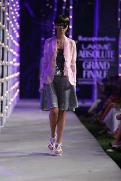 On the #Runway at Lakme Fashion Week #LakmeFashionWeek Summer resort 2014