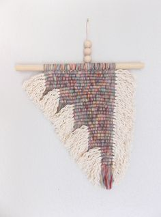 "Macrame Wall Hanging ""block by HIMO ART, One of a kind Handcrafted Macrame/Rope art Weaving Art, Tapestry Weaving, Feather Wall Decor, Macrame Wall Hanging Diy, Rope Art, Crochet Decoration, Yarn Thread, Macrame Design, Macrame Tutorial"