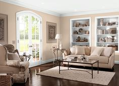This is the project I created on Behr.com. I used these colors: SIENNA DUST(PPU3-8),