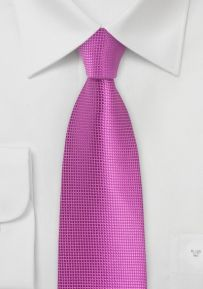 Vivid Viola Color Necktie
