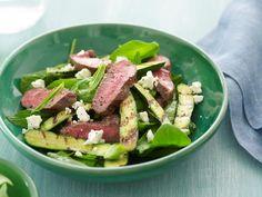 Warm Lamb, Zucchini & Feta Salad AWW