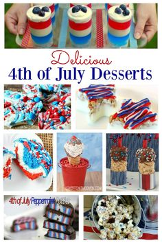july 4th finger food ideas