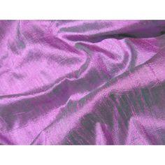 Purple Lavender Emerald Iridescent Silk Dupioni Fabric