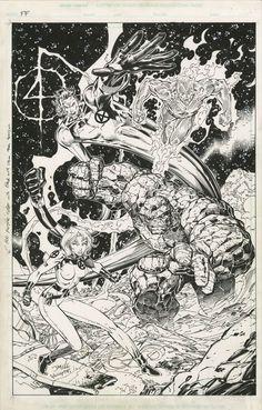 Fantastic Four by Jim Lee