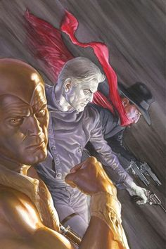 Justice Inc. #2 (Alex Ross) The only one here i can recognize is the grey ghost.