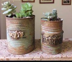 Tin Can Crafts, Crafts For Kids, Diy Crafts, Decoupage, Gisele, Diy Videos, Tins, Biscuit, Stencils