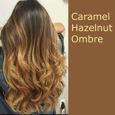 Caramel Hazelnut Ombre