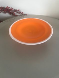 Excited to share the latest addition to my shop: Retro Funky Swedish Glass Orange Small Cake Stand Small Cake, Funky Junk, Cake Plates, 1970s, Etsy Shop, Orange, Retro, Tableware, Glass