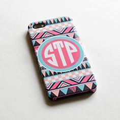 Personalized Aztec iphone 5 Case Monogram Custom by IsolateCase, $24.50