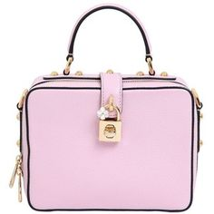 eb5b1404aa Dolce   Gabbana Rosaria Grained Leather Top Handle Bag
