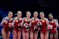 Team USA  certainly has the talent to become America's first Olympic gymnastics champions since 1996.