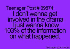 THIS IS ME. I'm not usually a part of the drama, but I need info!!!! Especially fandom drama