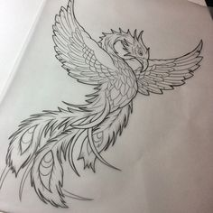 colorless new school rising phoenix tattoo design - Awesome colorless new school rising phoenix tattoo design -Awesome colorless new school rising phoenix tattoo design - Awesome colorless new school rising phoenix tattoo design - Phoenix Tattoo flash Phoenix Tattoo Sleeve, Rising Phoenix Tattoo, Phoenix Bird Tattoos, Phoenix Tattoo Design, Japanese Phoenix Tattoo, Japanese Tattoo Women, Japanese Tattoo Art, New School Tattoos, Vogel Tattoo Hals