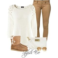 Winter  white and Tan
