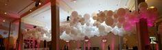 Giant balloon cloud side on. 12 x 9 x 2m. Just breathtaking. www.balloons.com.au