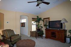 Bright TV room