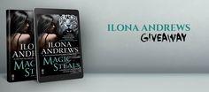 #IlonaAndrews #UrbanFantasy #Giveaway – Win Any Ilona Andrews Novel You Want! #kindle