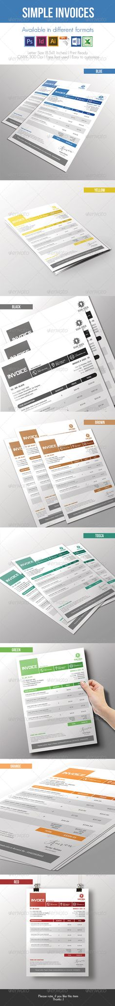 Artist Invoice Template Template, Artist and Project proposal