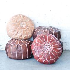 Moroccan Poufs | Patina