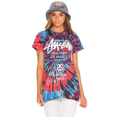 Stussy Loom Tie Dye T-Shirt