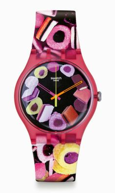 Swatch Pastry Chefs Candy-Themed Watch Collection I want all three!