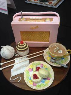 Enjoy the tea! Knitting Cake, Ugly Cakes, Cake Albums, Cake Pictures, Cake Pics, Disney Cakes, Edible Art, Cute Cakes, Party Cakes