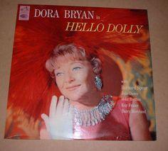 1966 Dora Bryan LP HELLO DOLLY