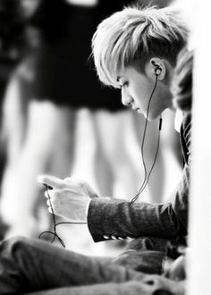 just a man and his music ~ #tao