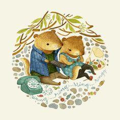 Children's Illustration 2 by Teagan White, via Behance