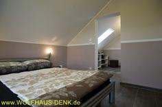 Wolfhaus Denk EFH Schlafzimmer