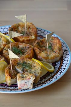 Petits flans aux deux saumons Potato Salad, Eggs, Potatoes, Cooking, Breakfast, Ethnic Recipes, Food, Smoked Salmon, Mouths