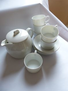 Cute tea-set by Arabia Finland
