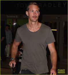 Alex and his mustache at LAX 09.15.2017