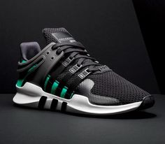 The adidas EQT ADV Support is officially introduced. Find the sneaker in its inaugural colorway at select adidas stores on July Sneakers Mode, Sneakers Fashion, Fashion Shoes, Shoes Sneakers, Sneakers Design, Dope Fashion, Shoes Men, Women's Shoes, Adidas Eqt Adv