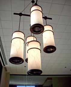 A custom architectural fixture from SPI Lighting